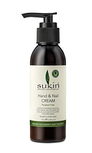 Main Sukin & crème à ongles pompe 125ml