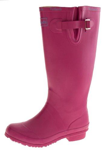 Wetlands Donna Stivali Di Gomma Impermeabili Da Pioggia Rosa (rosa)