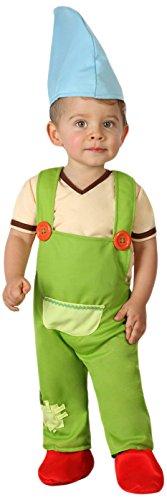 ATOSA 23967 - Kobold Kostüm, Größe 0-6 Monate, grün (Das Kobold Kostüm Baby)