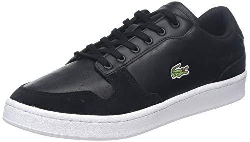 Lacoste Herren Masters Cup 319 1 SMA Sneaker, Schwarz (Black/White 312), 43 EU