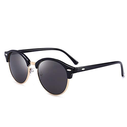 XIAOXINGXING Brand Herrenmode Driving Sonnenbrillen, Shopping Herren Sonnenbrillen, New Polarized Herren Sonnenbrillen UV400 (Lenses Color : 4246Black Light)