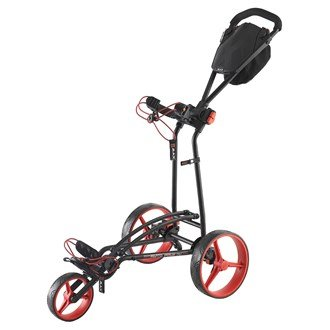 Big Max Repliable FF Appui Chariot - Noir/Rouge