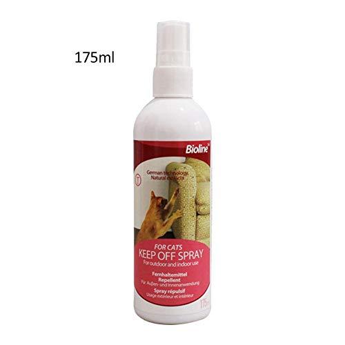 Talogca Pet Spray Deterrent Natural Keine Stimulation Cat Deterrent Verhindert Effektiv, DASS Katzen Möbel Zerkratzen, 175ml