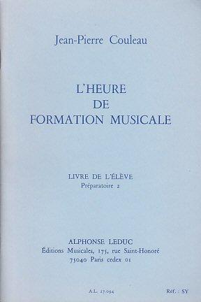 PDF Gratuit Jean-Pierre Couleau: l'Heure de Formation
