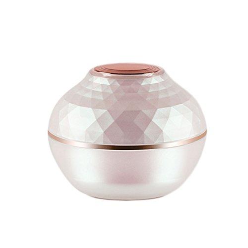 YYF BPA FREI Reise Flaschen Dicht Nachfüllbar Make Up Kosmetische Gesichtscreme Lotion Augencreme Probe Container 1/1,7 unze (1 Lotion Unze)
