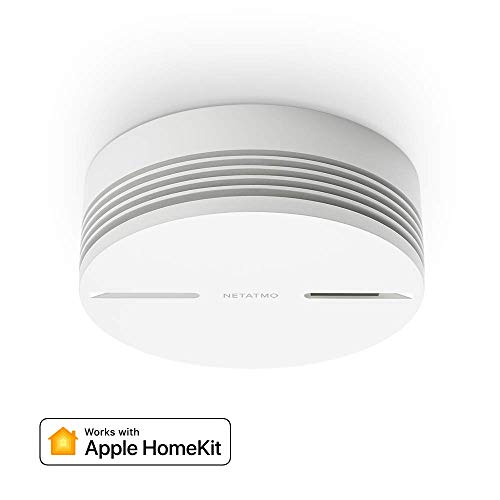 Netatmo NSA-UK Smart Smoke Alarm, White