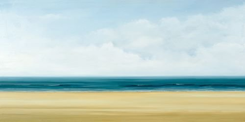 Fertig-Bild - Dawn Reader: Atlantic I 50 x 100 cm