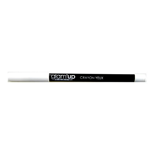 Glam'Up - Maquillage Yeux - Crayon Blanc - Fabrication Européenne