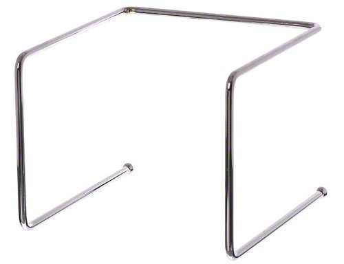 Update International PTS-9 Chrome Plated Steel Rod Pizza Tray Stand by Update International Chrome-plated Tray Stand