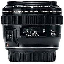 Canon EF 28mm f/1.8 USM Noir - Lentilles et filtres d'appareil photo (10/9, 0,25 m, 2,8 cm, 65°, 46°, 75°)