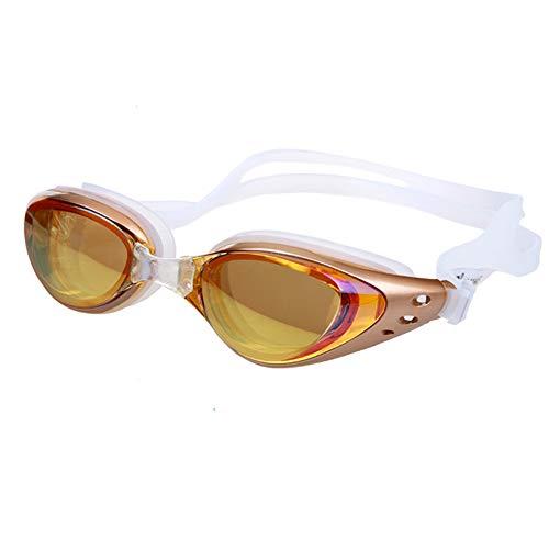 ZhaoZC Schwimmbrille Anti-Fog und Anti-Uv Belt Free Schutzhülle für Männer und Frauen Jugend wasserdicht Sonnenschutz,B (Jugend Nike Sonnenbrillen)