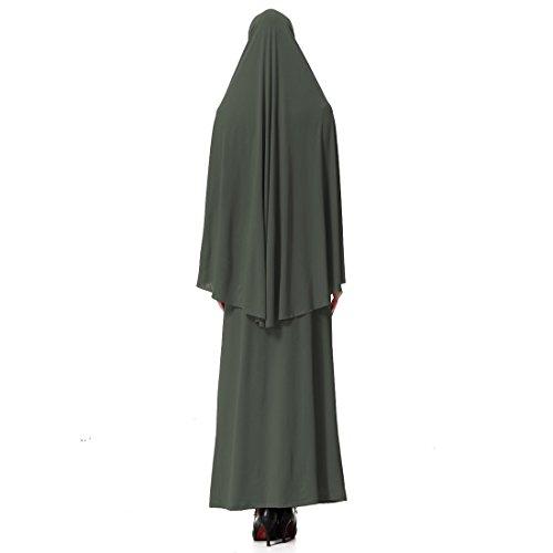Gnaixeh Damen Muslim Großen Overhead Hijab Abaya Jilbab Islam Gebet Rock Für Hadsch Umrah - 3