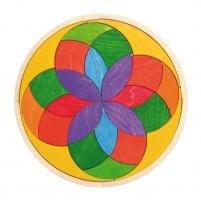 Grimms Spiel Und Holz Design Grimm's Kreis Iris - Holz-puzzle Kreis