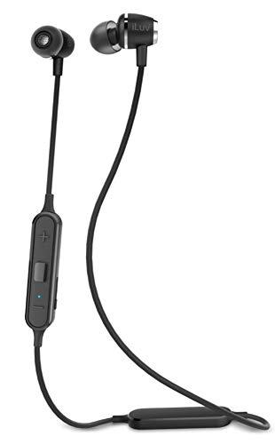 iLuv MFAIR2BK Wireless Bluetooth In-Ear-Kopfhörer mit Mikrofon schwarz -