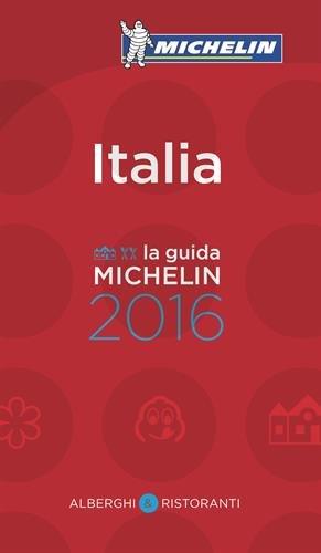 Guide Michelin Italie 2016 par Collectif Michelin