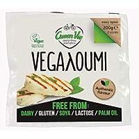 GreenVie Vegalloumi Vegano Halloumi Queso Alternativa 200g (Pack de 6)