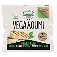 GreenVie Vegalloumi Vegano Halloumi Queso Alternativa 200g (Pack de 4)