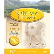 Natures Harvest (Nature's Harvest - Adult Fisch mit Reis Hundefutter - 395g)