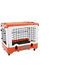 SJZC Transportín plástico Puertas con Carga Superior Caja de Transporte ...