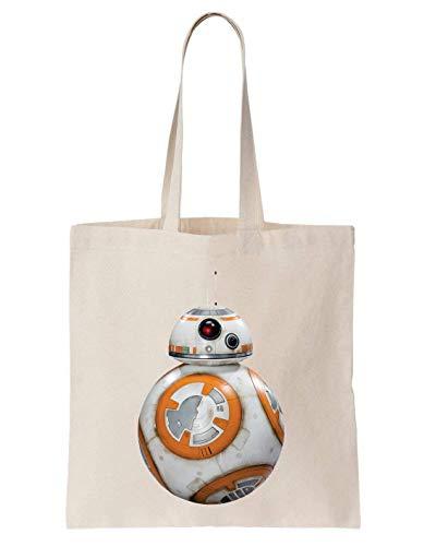BB8 Star Wars Robot Schultertasche Tote Bag