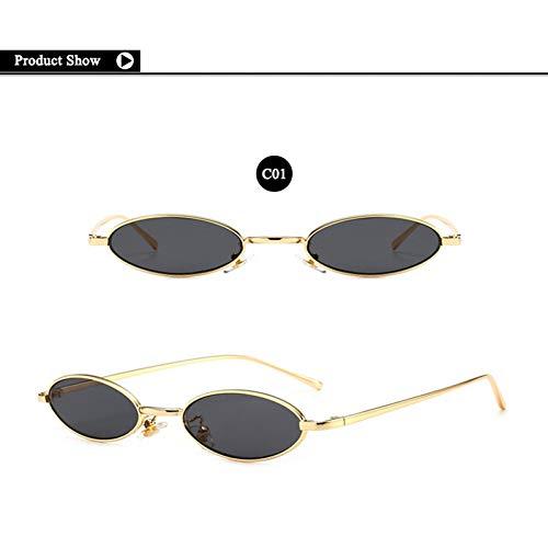 SKCLBOOS Sonnenbrillen 90er Jahre Hippie Vintage Sonnenbrillen für Frauen Festival Rave Party Sonnenbrillen Damen 70er 80er Brillen kleine ovale rote rosa Brillen