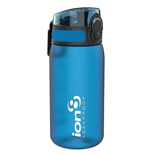 Ion8 auslaufsichere Kinder Wasserflasche/Trinkflasche, BPA-frei, 350ml/12oz, Blau