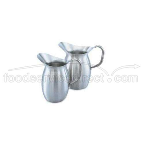 Vollrath Bell (Vollrath 82040 Satin Finish S/S 4.13 Qt. Bell-Shaped Pitcher by Vollrath)