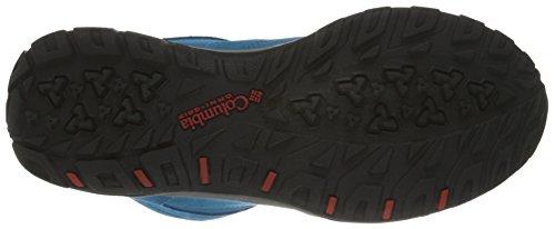 Columbia Fire Venture Mid Waterproof, Scarpe Sportive Outdoor Donna Blu (Oxide Blue, Spicy 473Oxide Blue, Spicy 473)