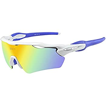 Duco polarizado Deportes Mens Gafas de Sol para esquí de ...