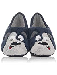 Amazon.es  37 - Zapatillas de estar por casa   Zapatos para niño ... 6c31ebd5c7f0c