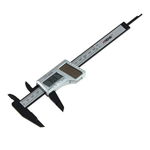 VROSE FLOSI 0-150mm Hochpräzise Wassergeschützter Messschieber mit Display Edelstahl Wasserdichte Schieblehre für Abständen und Durchmesser, Edelstahl Elektronische Digital Noniusschieber Mikrometer -