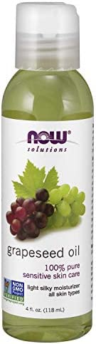 NOW Solutions Grapeseed Oil, 4 oz 100% pure
