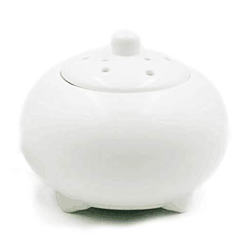 QQAA Aroma Diffuser,Geeignet FüR Aromatherapie-Brenner FüR InnenräUme Mit äTherischen öLen, Elektronischen Weihrauchbrenner, Keramikmaterial Und Luftreinigung - Grüner Tee-brenner