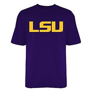 LSU Tigers Tshirt Purple Icon - S