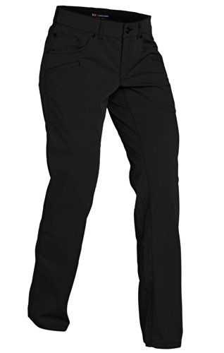 5.11 Tactical Damen Cirrus Covert Low Profile Professional Casual Pants mit Teflon-Finish, Style 64391, Damen, schwarz, 14/Regular -