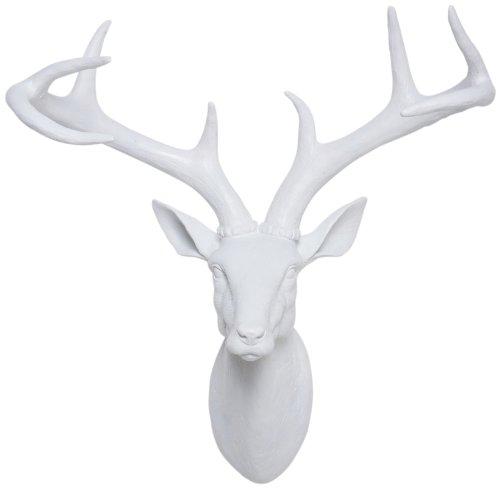 kare-31066-testa-di-cervo-ornamentale-in-poliresina-045x04x02-m-colore-bianco