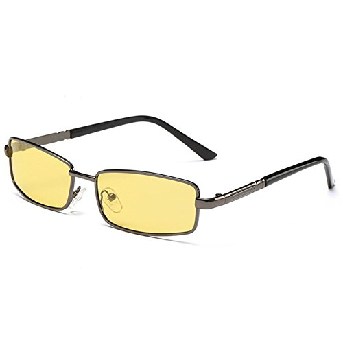 O-C Men's new classic stylish driving fishing aviator night view sunglasses TAC UV 400 polarized 54mm