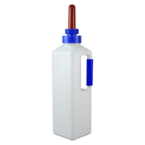 Kalb Milch Feeder Flasche mit Nippel Schaf Lamm Milch Flasche Halterung Sauger 3Liter Schraube Set Melken Füttern Ersatz Aufzucht Tränke