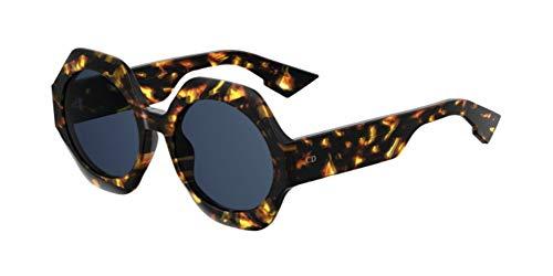 Christian Dior DIORSPIRIT2 0J Brille, Dark Havana/BL Blue, 58 Damen