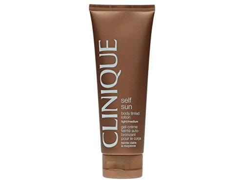 CLINIQUE SUN body tinted lotion light/medium 125 ml