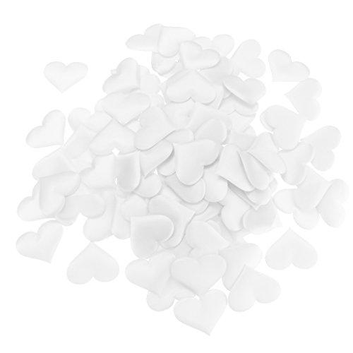non-brand MagiDeal 100 stk. 3D Schwamm Liebe Herzen Konfetti Blütenblätter Romantik Dekoration...