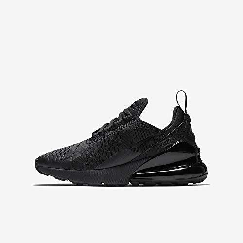 Nike Jungen Air Max 270 Bg Fitnessschuhe, Schwarz (Black/Black 001), 38 EU