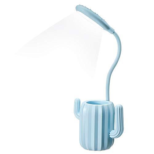 Lampe de Bureau Sans Fil - Bleu