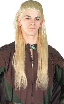 Original Legolas Herr der Ringe Perücke - Legolas Kostüm Perücke
