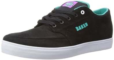 C1RCA Mens Transit Skateboarding Shoes, Black (black/baker), 5 UK