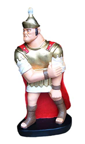 KARO DESIGN Legionär Rom römische Legion Soldat Militär Waffe Soldaten Römischen Reich Figur Hand bemalt Statue bewaffnet stark Büste Asterix Obelix