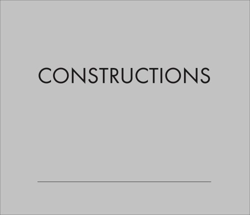 Constructions: Buildings in Arizona by Alfred Newman Beadle