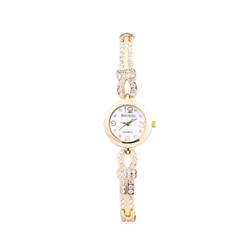 Armbanduhr Damen Uhr Luotuo Mode Armband Analoge Quarz Damenuhr Frauen Gold/Silber/Rose Gold