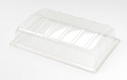 Nutley's Lot de 20 couvercles en Plastique Transparent pour Mini Serre