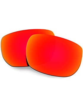 Hkuco Mens Replacement Lenses For Oakley Style Switch Sunglasses Red Polarized